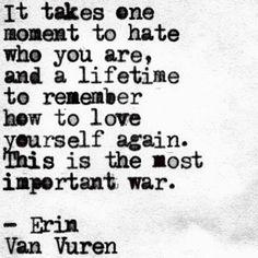 (7) Erin Van Vuren - Be NICE to each other  #wordgasm #wordporn...