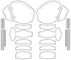 knees and shin Larp Armor, Medieval Armor, Knight Armor, Armadura Medieval, Cosplay Armor Tutorial, Armadura Cosplay, Leather Armor, Cosplay Diy, Leather Pattern