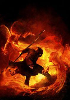 Hot Digital Fantasy Art by Alessandro Taini Fantasy Concept Art, Fantasy Rpg, Fantasy World, Dark Fantasy, Fantasy Illustration, Digital Illustration, Cthulhu, Deep Books, Into The Fire
