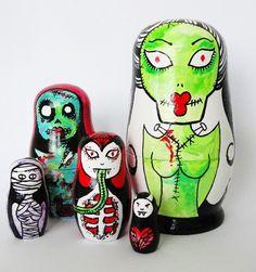 'Monster' Russian Dolls