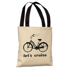 this site has SOO many things i need, i want, i have to have! Lets Cruise Tote Bag