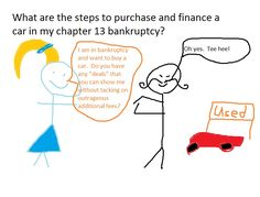 What are the steps to purchase and finance a car in my chapter 13 bankruptcy? | robertspaynelaw.com My Utah Bankruptcy Blog