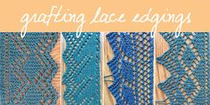 An Education in Grafting Lace Edgings: Edging Pattern 5