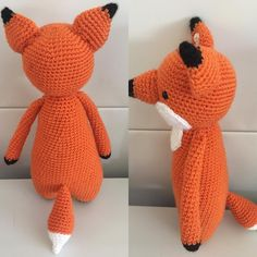 Fox by lets_have_a_yarn. Crochet pattern by Little Bear Crochets: www.littlebearcrochets.com ❤️ #littlebearcrochets #amigurumi