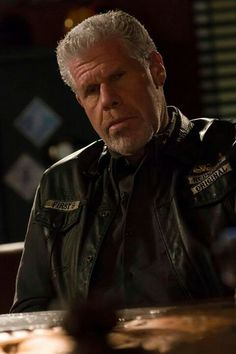 "Sons of Anarchy Ron Perlman as Clarence ""Clay"" Morrow"