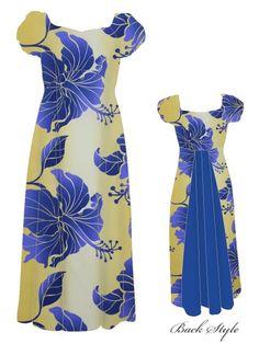 Island Wear, Island Outfit, New Dress Pattern, Dress Patterns, Africa Fashion, Ethnic Fashion, Hawaiin Dress, Samoan Dress, Island Style Clothing
