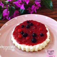 Fit Happy Meals: Cheesecake EXPRESS ( en sartén con molde)