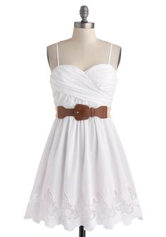 Simple white country dress | Ashtons Hair/ Dresses and Makeup/Cute ...