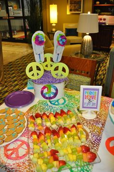 """Photo 2 of 15: Pool Party / Birthday """"Peace, Love & Flip Flops"""" 