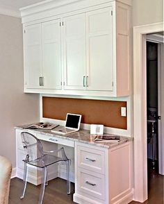 JEM Woodworking has been providing custom cabinetry, manufactured out of Hudson, NY for over 25 years. Kitchens, bathrooms, built-ins all customized to your style preferences. White Desks, Custom Cabinetry, Built Ins, Office Desk, Your Style, Woodworking, Furniture, Home Decor, Custom Closets