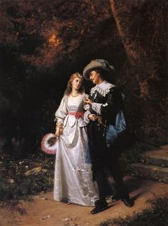Henry Mosler   Courtship