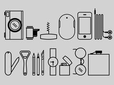 Pocket #Pictograms,  #AI, #Free, #Graphic# Design, #Objects, #Pictogram, #Resource, #Simple, #Vector