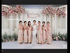 Wedding Reception Backdrop, Wedding Stage, Ceremony Backdrop, Wedding Arches, Backdrop Decorations, Wedding Decorations, Malay Wedding, Akad Nikah, Bridesmaid Dresses