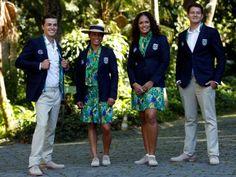 Os looks e uniformes das delegações para as Olimpíadas 2016 - Fashionismo