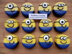 MINION Chocolate Covered Oreos - MINION Birthday or DESPICABLE me Birthday!