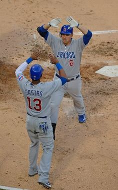 MLB: Cubs 12 (23-44, 9-25 away) White Sox 3 (35-32, 16-19 home) FINAL  Top Performer- CHC: S. Castro, 3-5, HR, 2 RBI, 3 R  keepinitrealsports.tumblr.com  keepinitrealsports.wordpress.com  Mobile- m.keepinitrealsports.com