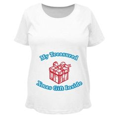 Christmas Maternity Top for Pregnant Wife #christmasmaternity #maternitytops #christmas