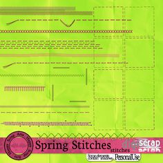 Spring Stitches Stiksels