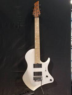 Abasi Guitars 6 in Trans White Pearl