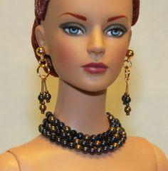 """Mystery"" Jewelry Set for Tonner Tyler Antoinette Ellowyne DeeAnna Gene Sybarite"