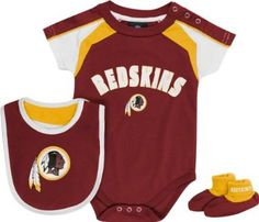Amazon.com  Washington Redskins Newborn Burgundy Team Creeper 1a975b78b