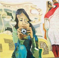Distorted Reflection of the Artist - Nageen Chohdry