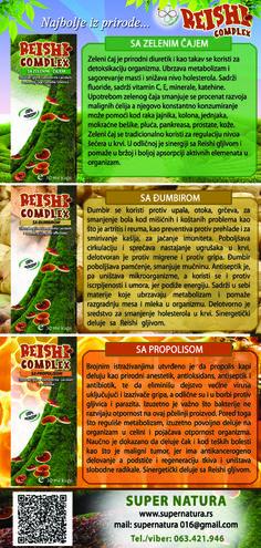 Reishi Complex sa zelenim čajem, đumbirom i propolisom. Promo, strana 2.