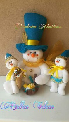 Felt Christmas, Christmas Crafts, Xmas, Christmas Ornaments, Felt Crafts, Snowman, Lily, Gingerbread, Holiday Decor