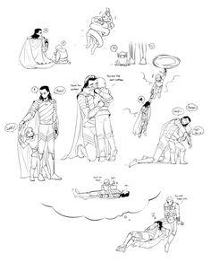 Dreams || Thor & Loki || Cr: 트렘