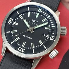 #IWC put out this #aquatimer in 2008 to to celebrate the company's 150th #anniversary. the model was inspired 1967 model 812AD  available for sale @element_in_time  #instawatch #diver #diverwatch #watchporn #womw #elementintime #quarantineandchill #flattenthecurve #covid-19 #wewillwin #nyc