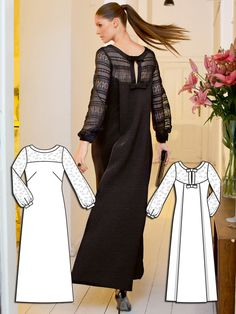 Read the article 'Black Magic: 7 New Dress Sewing Patterns' in the BurdaStyle blog 'Daily Thread'.