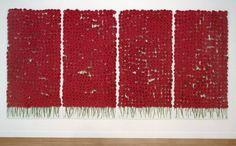Anya Gallaccio - Preserve 'Beaty' - one thousand eight hundred red gerberas, glass