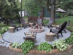 my new favorite place! my new favorite place! The Effective Pictures We Offer You About Firepit pavers A quality picture can tell you many things. You can find the most beautiful pictures that can be Backyard Patio Designs, Backyard Landscaping, Backyard Seating, Landscaping Ideas, Fire Pit Backyard, Back Yard Fire Pit, Outdoor Fire Pits, No Grass Backyard, Backyard Playground