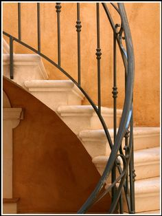Stairs in Provence France....