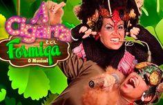 """Agenda Cultural RJ: """"A cigarra e a formiga – O musical"""" O Musical' ree..."""
