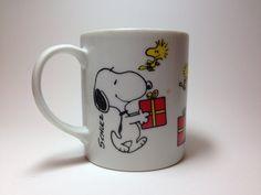 Vintage Snoopy Mug, Snoopy and Woodstock on Etsy, $7.50