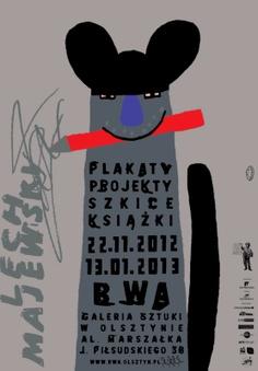 Poster by Lech Majewski, 2012, Polish