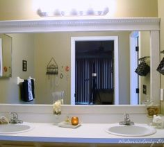 9 Outstanding Framing Large Bathroom Mirror Digital Picture Idea: large bathroom accessories
