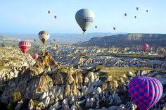History, scenery and wine altogether.plus you can even ride a baloon :) Cappadocia/Turkey Pamukkale, Balloon Rides, Hot Air Balloon, Ankara, Capadocia, Cappadocia Turkey, Our World, 2 In, Grand Canyon