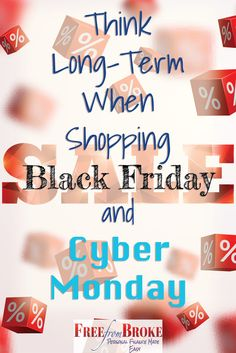 Black Friday and Cyber Monday means buying gifts for the coming holidays. Think long term when doing your shopping. Don't let some of the lowest prices of the year go to waste. Buy for the year. Best Black Friday, Black Friday Deals, Cyber Monday Specials, Budgeting Tools, Best Money Saving Tips, Shop Up, Black Friday Shopping, Frugal Living Tips, Financial Tips