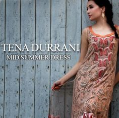 Tena Durrani Mid-Summer Collection 2014 | Designer Debut for Summer-14 - She9 | Change the Life Style