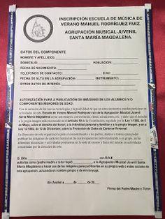 COFRADES DE ARAHAL: Inscripciones para la Escuela de Verano Manuel Rod...