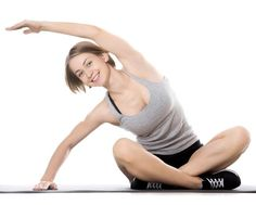 Checkout This At-home Pilates Workout Routine For Beginners Intense Cardio Workout, Pilates Workout Routine, Workout Routines For Beginners, Pilates For Beginners, Flexibility Workout, Beginner Pilates, Cardio Workouts, Inner Thigh Stretches, Tricep Stretch