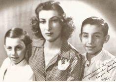 Princess Lutfiye with Ahmed and Jon Rashad
