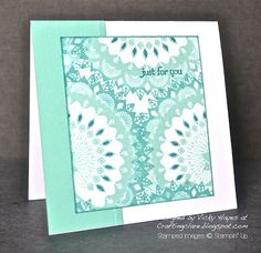 Stampin' Up ideas and supplies from Vicky at Crafting Clare's Paper Moments: How to use Stampin' Up's new in-colours