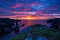 Newfoundland, Windsor, Dawn, Ocean, Celestial, Art Prints, Sunset, Outdoor, Art Impressions