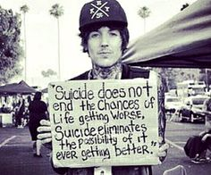 Oli Sykes from bring me the horizon:) such a sweet quote