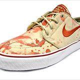 Bloody sneakers....