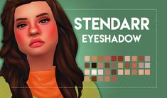 sims 4 mm cc maxis match eyeshadow weepingsimmer