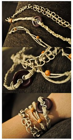 Hunger Games Inspired Bracelet Set by CaimbrieForest on Etsy, $9.00